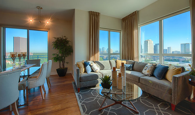 luxury apartments houston